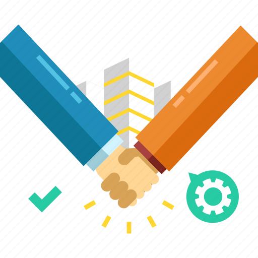 agreement, business, contract, deal, hand, support icon