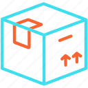 box, cargo, container, delivery, package icon