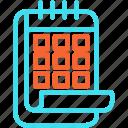 calendar, date, days, event, schedule icon