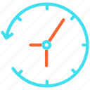 alarm, clock, hours, time, watch icon