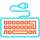 computer, hardware, keyboard, keys, type icon