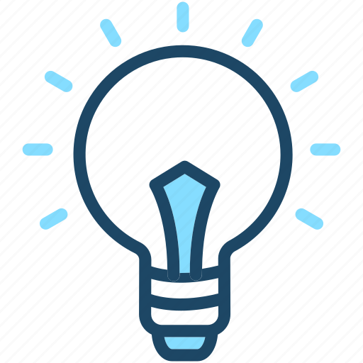 bulb, electric, energy, idea, light icon