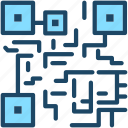 barcode, code, encrypted, qr, scan icon