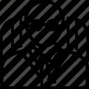 avatar, principal, school icon