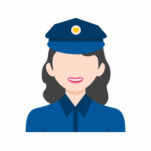 cop, law, man, officer, police, uniform, woman icon
