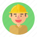 avatar, laborer, male, man, people, professions, worker icon