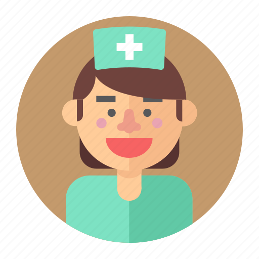 avatar, female, medic, nurse, professions, woman icon