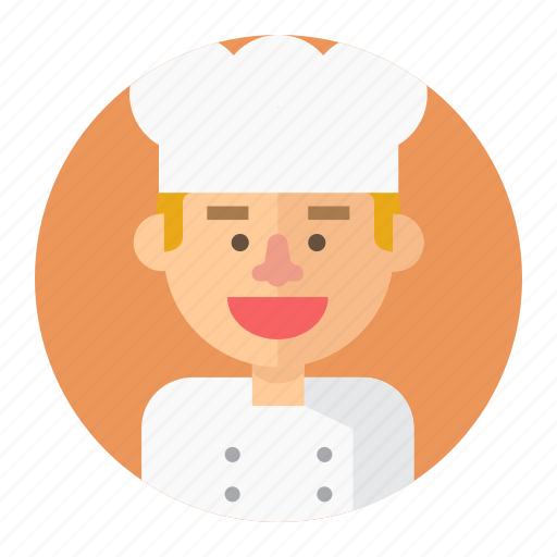 avatar, chef, cook, cooking, male, man, professions icon