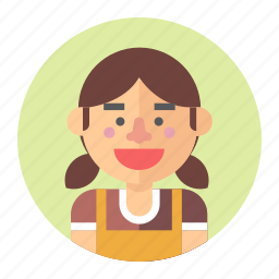 avatar, cashier, female, girl, professions, woman icon