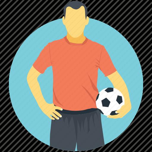 footballer, game, player, sports, sportsman icon