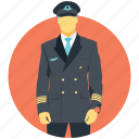 aeronaut, co-pilot, flyer, pilot, wingman icon