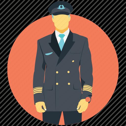 aeronaut, co-pilot, flyer, pilot, wingman icon