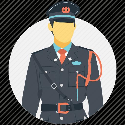 patrolman, police, police officer, police person, policeman icon
