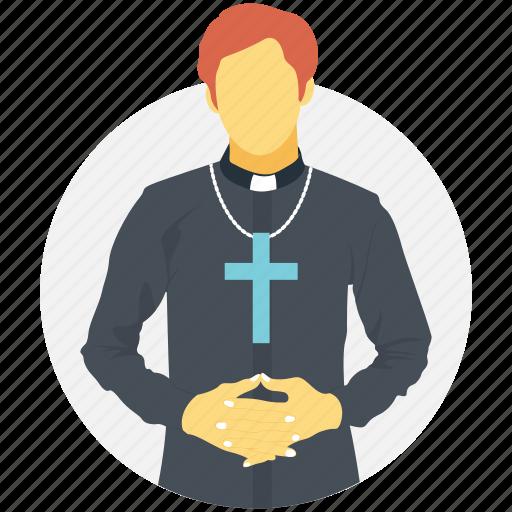 bishop, confessor, father, padre, priest icon