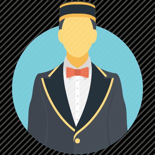 caretaker, concierge, custodian, keeper, steward icon