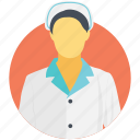 caregiver, head nurse, nurse, primary care provider, registered nurse icon