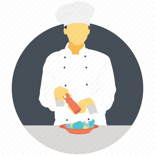 baker, chef, cook, kitchen, profession icon