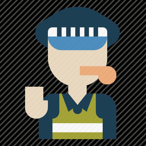 guard, man, person, police, security icon