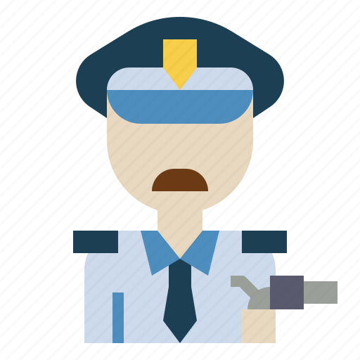 guard, man, person, police, protection, security icon