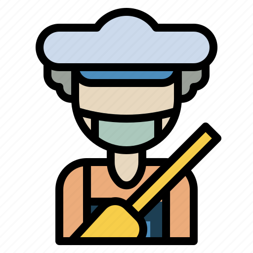 clean, cleaning, housekeeping, maid, work icon
