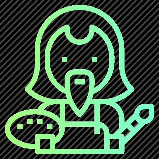 artist, avatar, designer, singer icon