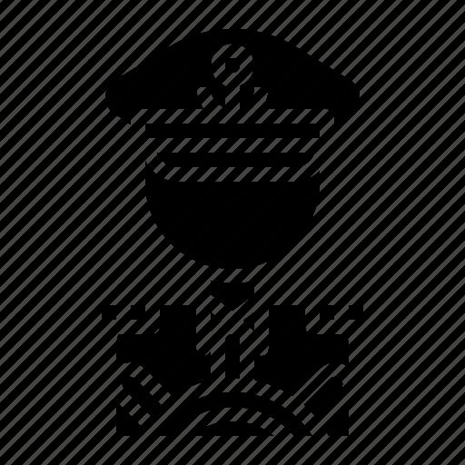 avatar, captain, job, people, profession icon
