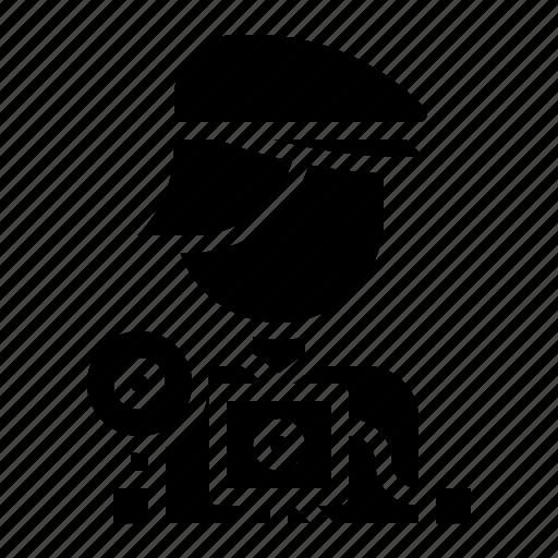avatar, cameraman, photographer, profile, user icon