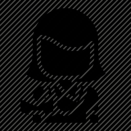 avatar, scientist, student, teacher, user icon