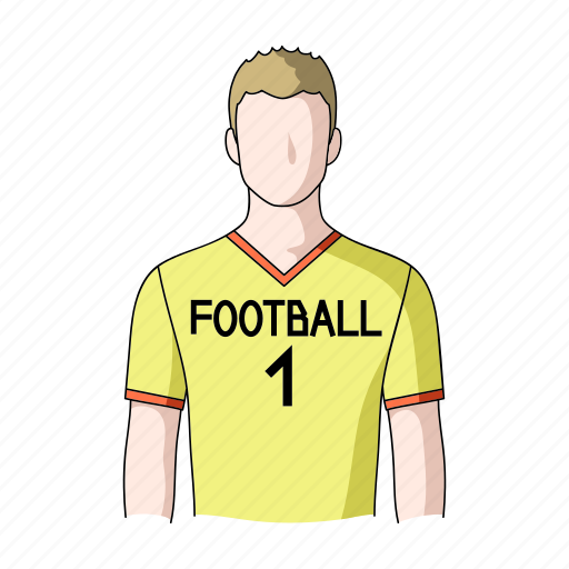 appearance, athlete, football player, image, man, person, profession icon