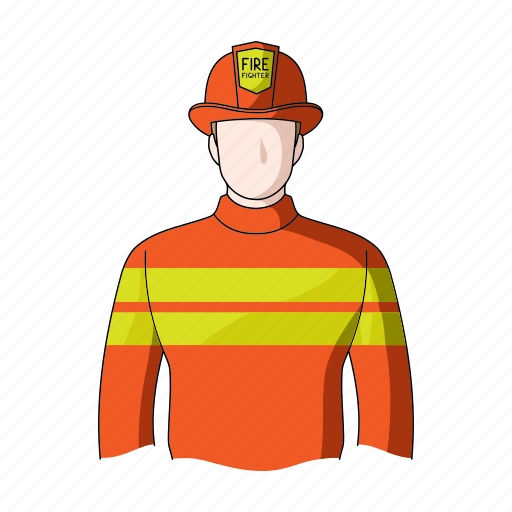 appearance, fireman, image, man, person, profession, rescuer icon