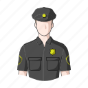 appearance, cop, image, man, person, policeman, profession icon