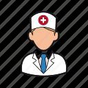care, doctor icon, health, hospital, man, medicine, professions icon
