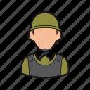 helmet, man, military, professions, soldier icon, war icon
