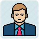 avatar, man, profession, teacher icon