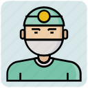 avatar, doctor, operation, profession icon