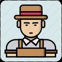 avatar, engineer, man, people, profession