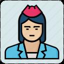 avatar, job, maid, profession, woman