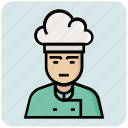 chef, man, profession, avatar