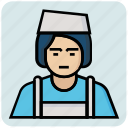 avatar, girl, job, profession icon