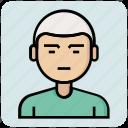 avatar, boy, profession, student icon