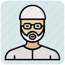 avatar, man, muslim, people, profession