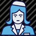 architect, avatar, female, profession