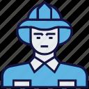 avatar, man, profession, worker icon