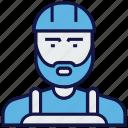 avatar, construction, engineer, people, profession