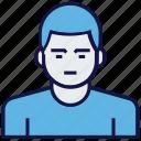 avatar, clerk, employee, man, profession icon