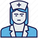 avatar, doctor, nurse, profession icon