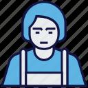 avatar, female, profession, tailor