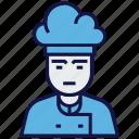 avatar, chef, man, profession
