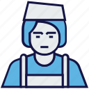 avatar, girl, job, profession icon
