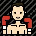 boxer, boxing, fighting, muay, profession, thai
